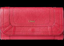 クロエ レザー長財布