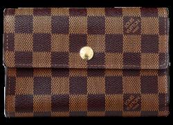 パスケース付き中型財布